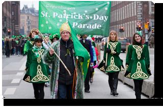 Copenhagen St Patrick's Day Parade